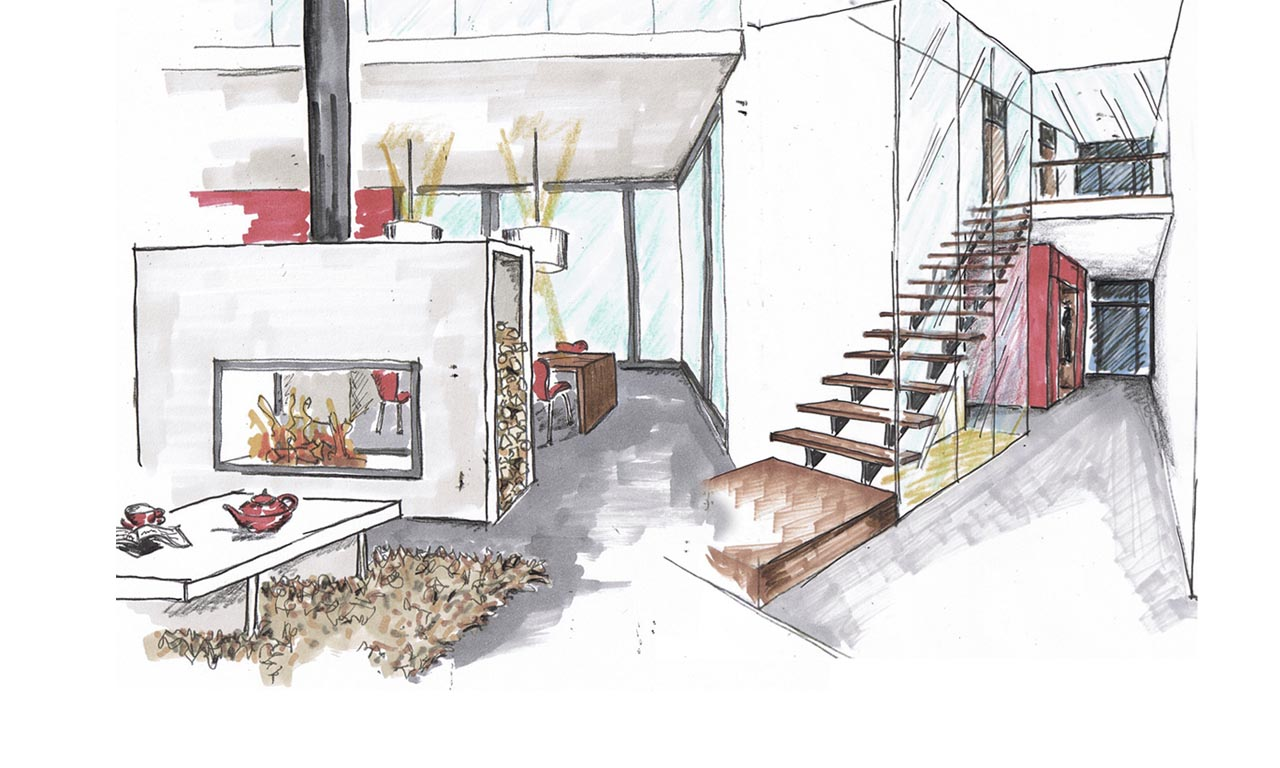 Nico stammer innenarchitektur entw rfe for Innenarchitektur projekte